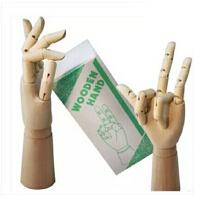 木人手小号8寸 20cm素描漫画用手关节木手/小孩手模型 静物