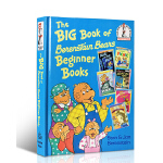 英文原版 The Big Book of Berenstain Bears Beginner Books 贝贝熊6个故