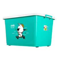 家居生活用品收纳箱塑料整理箱收纳箱特大号有盖储物箱衣服收纳盒储物箱三件套 超划算套餐 120L+170L+170L(3
