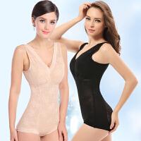 束身衣衣紧身衣美体衣塑形内衣透气抹胸收腹腰减肚子连体