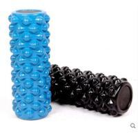 颗粒按摩瑜珈柱狼牙柱家用PU瑜伽柱泡沫滚轴 按摩放松柱普拉提棒 平衡棒