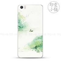 小米note/4s/小米5/5s手机壳保护套中国复古风文艺小清新简约手绘