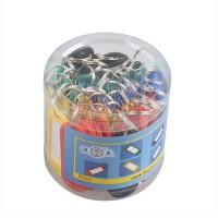 渡美钥匙牌 DM-08 彩色塑料 50个/桶 钥匙扣 钥匙环