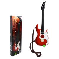 音乐吉他益智儿童乐器玩具 可弹奏背带吉他玩具