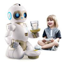 会讲故事的机器人智能对话早教机器人会跳舞多功能语音遥控 益智学习儿童玩具男孩A 【智能对话 陪伴跟随 家居清洁】机器人