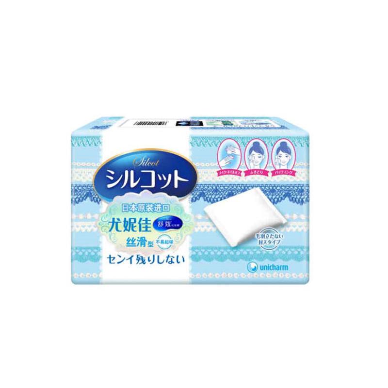 舒蔻化妆棉丝滑型82片 单盒 82片*1盒