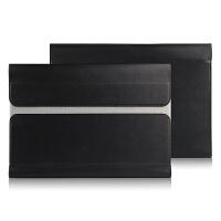 联想YOGA Tab3 Pro平板保护套 包YT3-X90Y/A/L/M电脑皮套内包 黑色【头层牛皮】 10寸