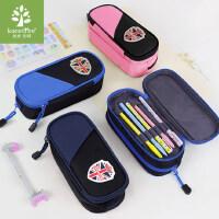 韩国kk树铅笔盒男女孩大容量多层简约笔袋小学生笔袋儿童文具盒