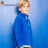 【4折到手价:118.44元】暇步士童装新款秋装男童套头卫衣中大童摇粒绒衣儿童上衣