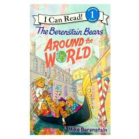 英文原版 The Berenstain Bears Around the World