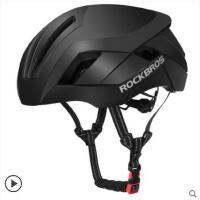 大气单车防护骑行头盔气动头盔男山地公路车自行车一体成型安全帽配件