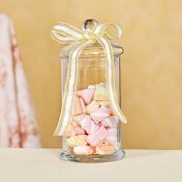 欧式玻璃糖果罐糖缸储物罐甜品台装饰厨房婚庆生日家居软装摆件