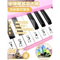 玩具3-6-8-10岁带麦克风 儿童电子琴初学者61键入门钢琴男女孩音乐