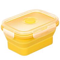 宝宝硅胶碗便携外出吃饭保鲜盒餐具用品婴儿辅食盒
