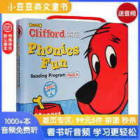 CLIFFORD PHONICS FUN PACK5(Books + CD)大红狗自然拼读