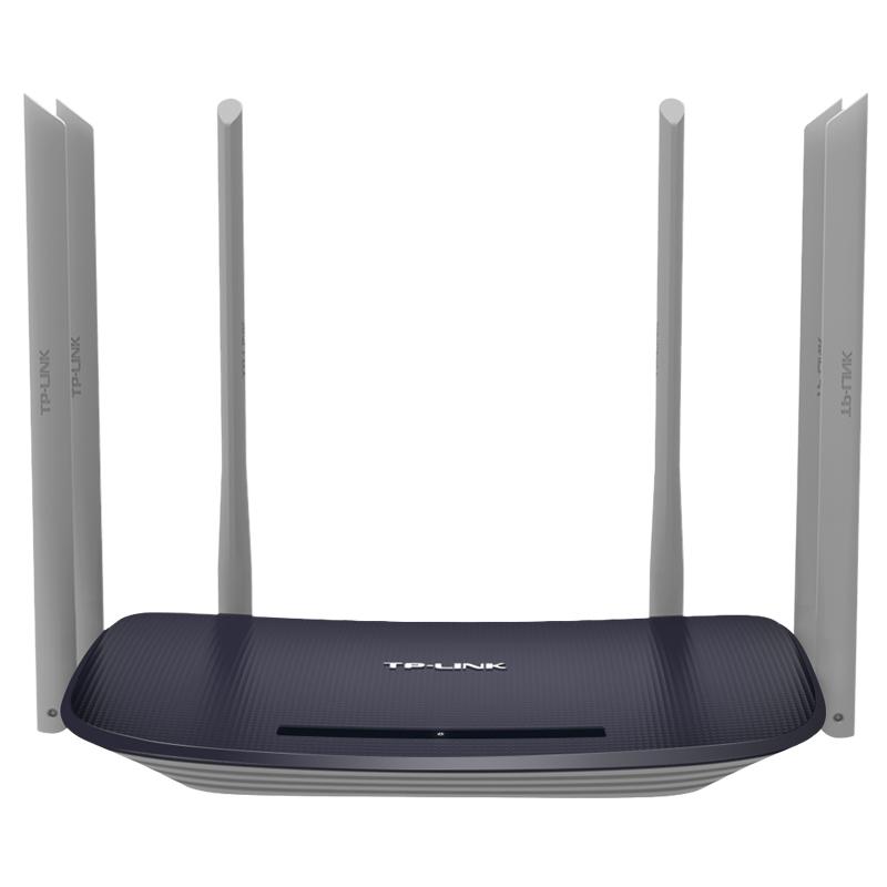TP-LINK WDR7400千兆版 无线路由器wifi家用智能双频5G穿墙王高速1750M光纤宽带千兆端口 千兆端口 1750M双频