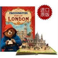 【限量现货】原版英文 帕丁顿熊2:伦敦立体书 Paddington Pop-Up London: Movie tie-