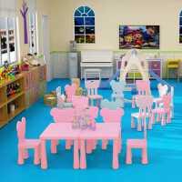 儿童桌椅套装家用幼儿园桌椅子宝宝学习桌椅塑料游戏桌子画画桌子