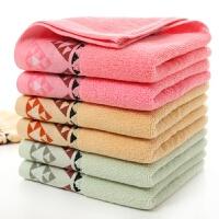 10条装毛巾纯棉洗脸家用情侣加厚柔软吸水全棉批�l结婚回礼好 32x72cm