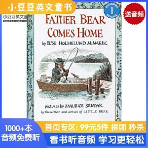 英文绘本 原版进口Father Bear Comes Home 熊爸爸回家来I Can Read[4-8岁]