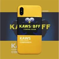 海报插画iphone8手机壳7plus保护壳XR苹果X/XS/Max软壳6s 6/6s KAWS海报