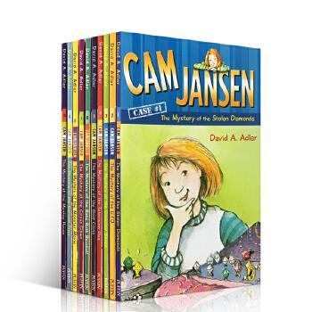 英文原版进口 cam Jansen 侦探故事 1-10册套装 儿童小说阅读 进口章节桥梁书