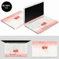苹果电脑贴纸macbookair13笔记本保护膜15macbookpro13.3寸外壳膜12寸mac