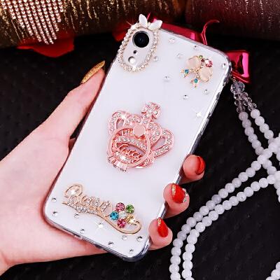 苹果xr手机壳A2108保护套潮牌iPhone Xr透明水钻外壳仙女iPhoneXR软壳