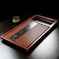 全自动电磁炉四合一茶具套装茶盘实木茶台7ej