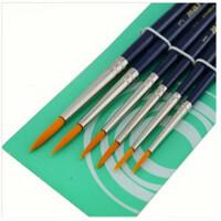 马利牌勾线笔 圆锋尼龙勾线笔G1206 描笔 6支套装