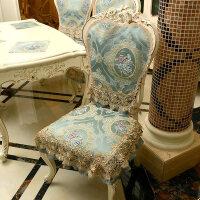 欧式餐桌布椅垫椅套子茶几布艺台布家用椅子垫餐椅套装订做四季
