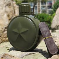 特种兵304不锈钢保温水壶杯户外运动大容量真空水壶