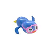 婴儿戏水小孩宝宝洗澡沙滩拉线儿童浴室游泳玩具鸭子喷水小鸟漂浮