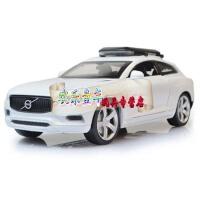 嘉业汽车模型合金车沃尔沃吉普车声光回力1:32仿真跑车赛车玩具车 沃尔沃黄色 沃尔沃白色 沃尔沃蓝色