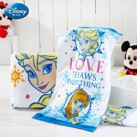 迪士尼(Disney)毛巾家纺 冰雪奇缘生活3件套 毛巾/浴巾礼盒装套装 男女宝宝 儿童毛巾/婴儿浴巾/方巾