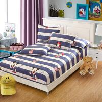 床笠定制全棉床罩棉床垫保护套棕垫儿童卡通 灰色 百变奇