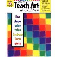 英文原版 How to Teach Art to Children