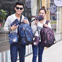 双肩包男韩版高中学生书包初中大学生书包时尚潮流旅游旅行背包
