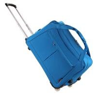 20180519003606507韩版大容量拉杆包手提旅行包箱防水可折叠男女通用20 24寸行李包
