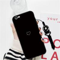 苹果6plus手机壳iPhone6splus 软磨砂苹果6splus手机套卡通防摔潮