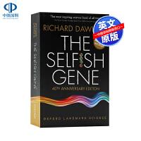 英文原版 自私的基因 The Selfish Gene 40th Anniversary Edition 40周年纪念版