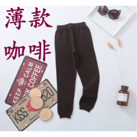 儿童仿羊绒裤秋冬季薄款加厚打底裤保暖裤宝宝毛线裤男童女童羊毛裤