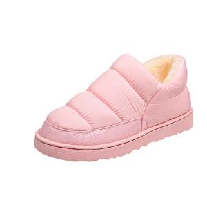 WARORWAR 2019新品YM128-901冬季韩版平底鞋舒适女鞋潮流时尚潮鞋百搭潮牌雪地靴