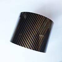 汽车贴膜改色亚光磨砂亮光黑碳纤维机盖后视镜内饰中立柱贴纸改装