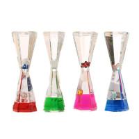 创意六角形动感油滴动物油漏液体沙漏计时器摆件