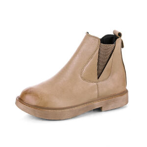 WARORWAR新品YM82-T395冬季韩版平底鞋舒适女士靴子切马丁靴短靴