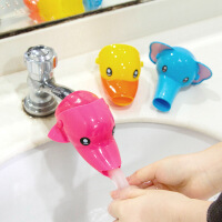 水龙头加长水嘴延伸辅助器卡通儿童宝宝防溅头洗手器导水槽延长器