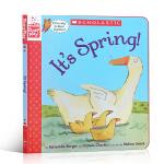 【发顺丰】英文原本绘本 Maybe a Bear Ate It (A StoryPlay Book) 这是春天! Sc