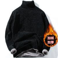 №【2019新款】小伙子穿的毛衣男高领打底衫2018新款青年冬装男装针织衫