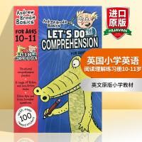 华研原版 英国小学英语阅读理解练习册10-11岁 英文原版小学教材 Let's do Comprehension 进口
